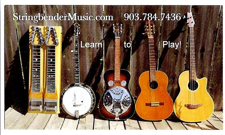 Steel Guitar - Banjo - Dobro - Guitar- Bass